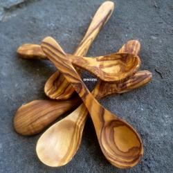 Cuillère à Café petite en bois d'olivier