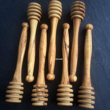 Cuillère à miel bois d'olivier 11cm